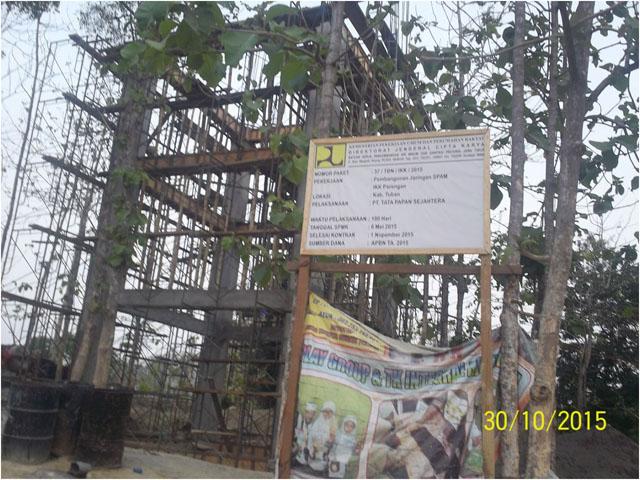 Proyek Pembangunan System Pengembangan Air Minum (SPAM) IKK Parengan  Tuban, Provinsi Jawa timur.