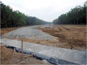 Proyek Jalur Rel Kereta api KEK1