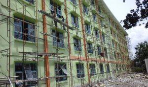 Bangunan rusunawa Krian.